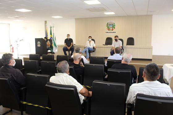 Aciu apresenta requisições para aprimorar protocolos em Umuarama