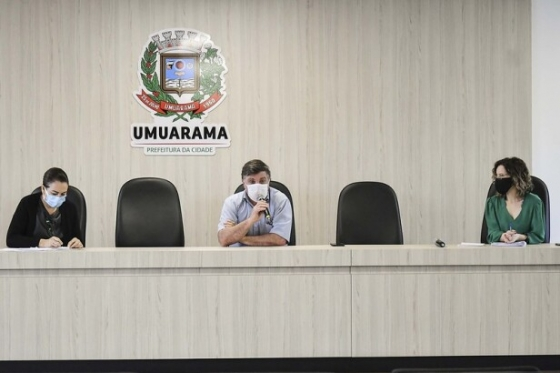Decreto aumenta restrições para conter o avanço da Covid em Umuarama