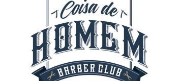 Logo da empresa Coisa de Homem Barber Club