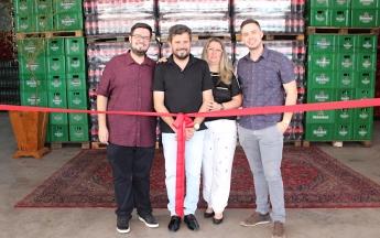 Inauguração - L.A Martins distribuidora de bebidas